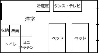 "Dタイプ間取り図"""
